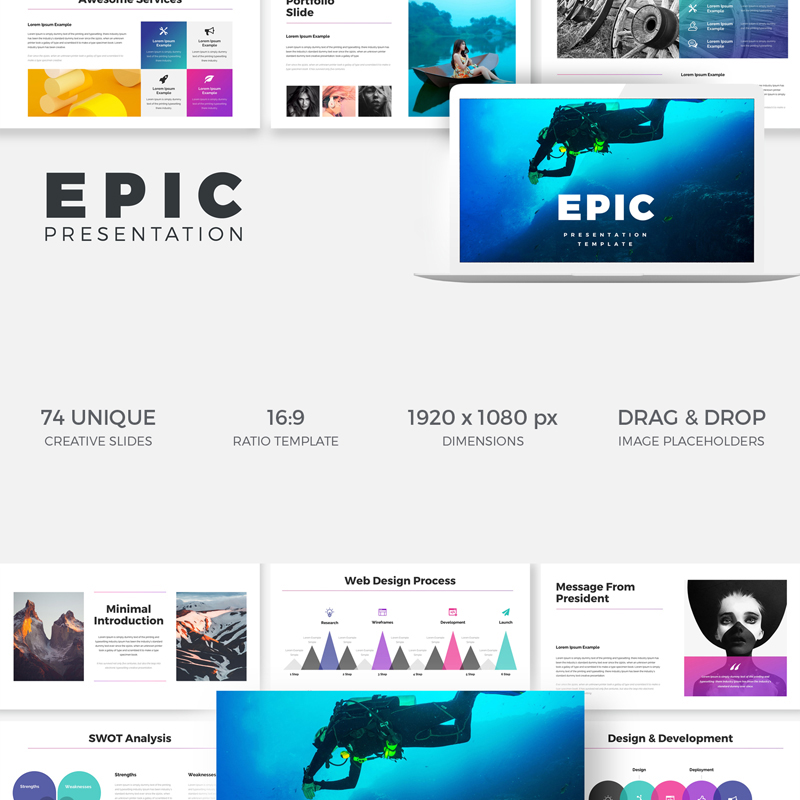 EPIC Presentation Keynote Template