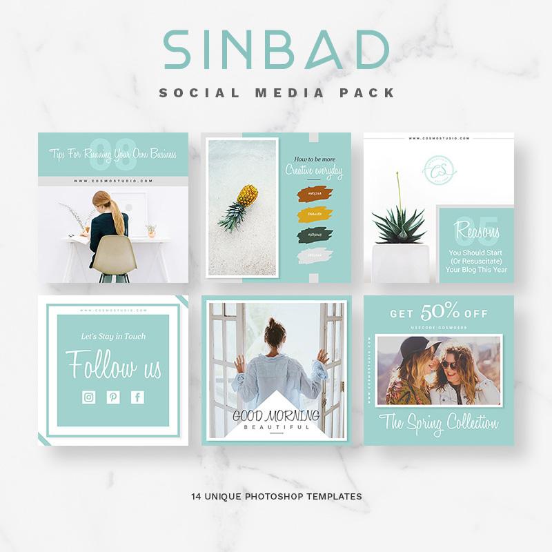 SINBAD Social Media Pack Social Media