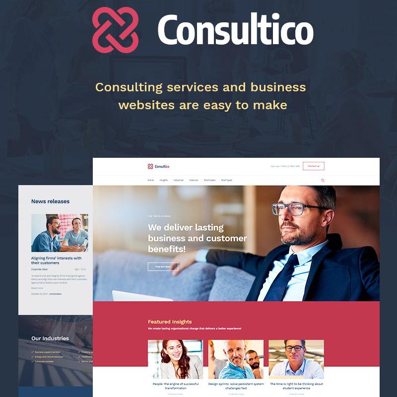 Consultico - Consulting WordPress Theme