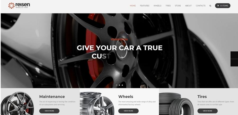 Reisen   Automechanic & Car Repair WordPress Theme