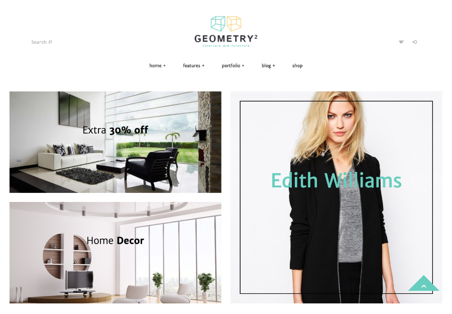 Geometry | Interior Design & Furniture Shop WordPress Theme
