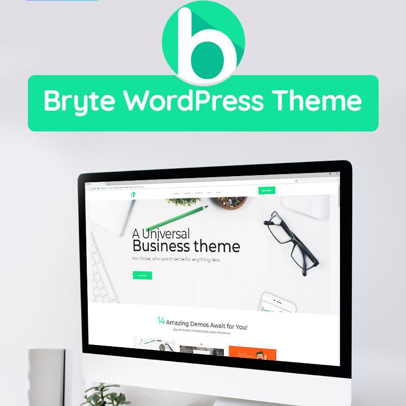 Bryte - Multipurpose Creative & Business Elementor WordPress Theme