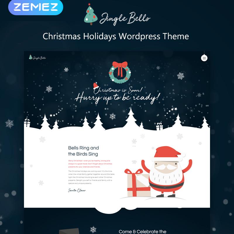 Jingle Bells - Christmas Holidays Elementor WordPress Theme