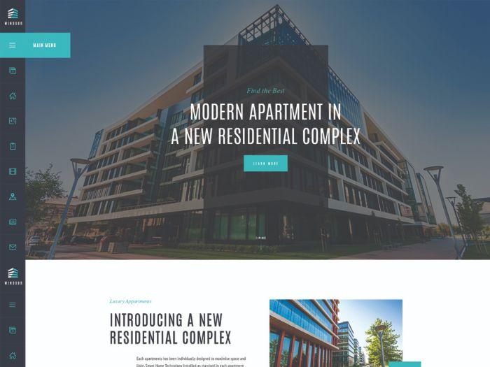 Windsor - Apartment Complex / Single Property WordPress Theme