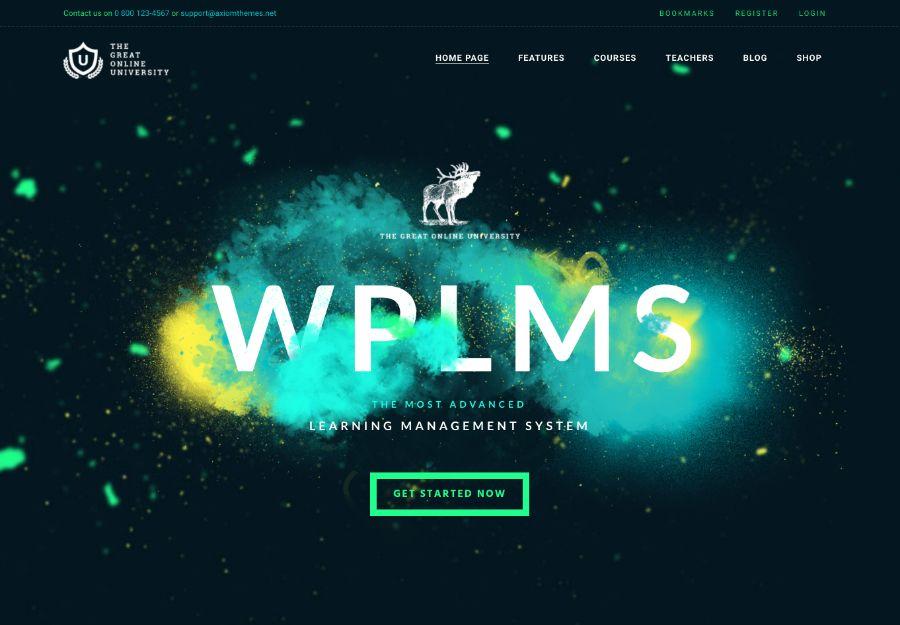 Online University - Education LMS School WordPress Theme