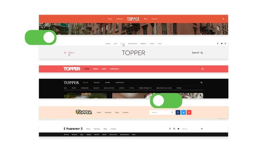 Topper WordPress Theme