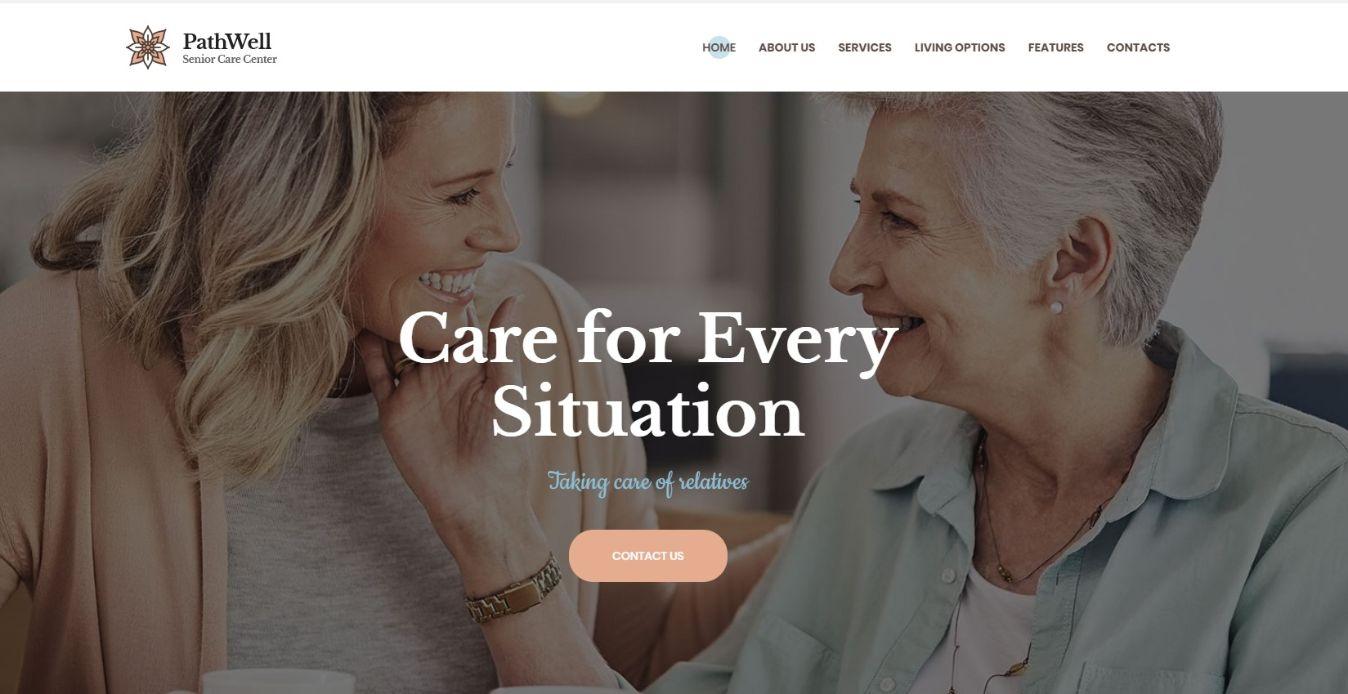 PathWell | A Senior Care Hospital WordPress Theme
