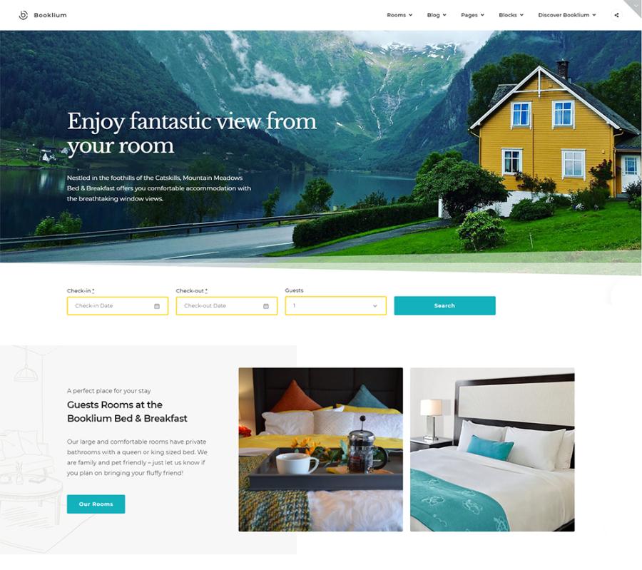 Bookleum - Rental WordPress Theme