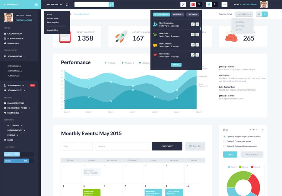 Alliance   Intranet & Extranet WordPress Theme