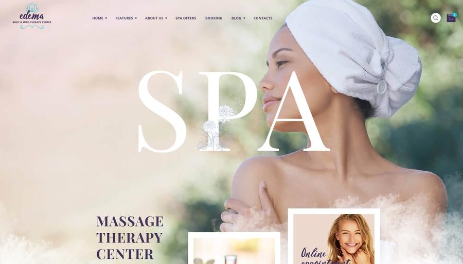 Edema | Wellness & Spa WordPress Theme