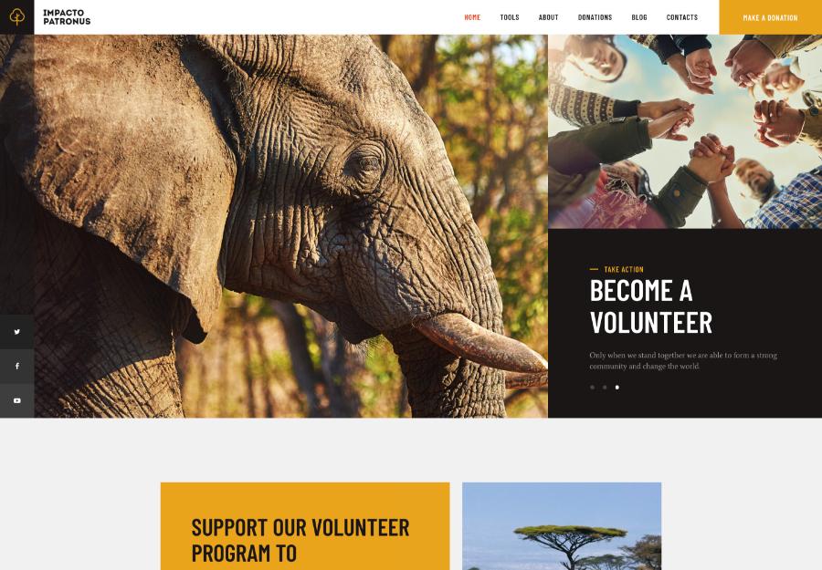 Impacto Patronus | Coronavirus Protection, Petitions & Social Activism WordPress Theme + RTL