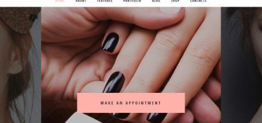 nail bar WordPress themes