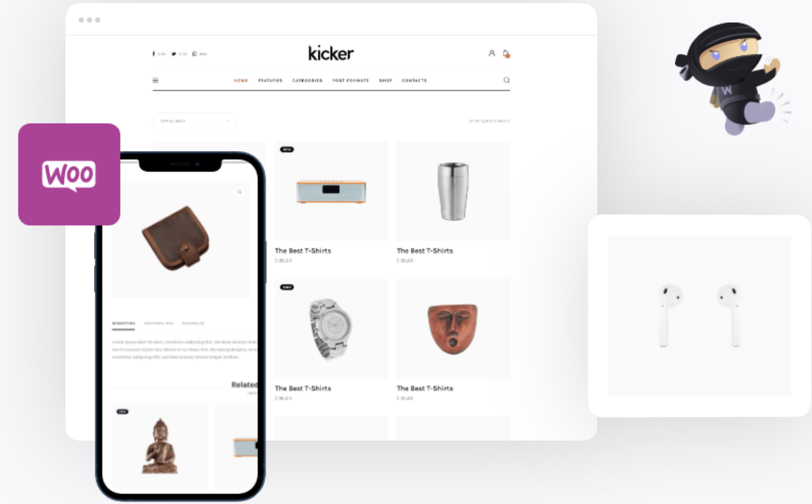 Kicker - Multipurpose Blog Magazine WordPress Theme