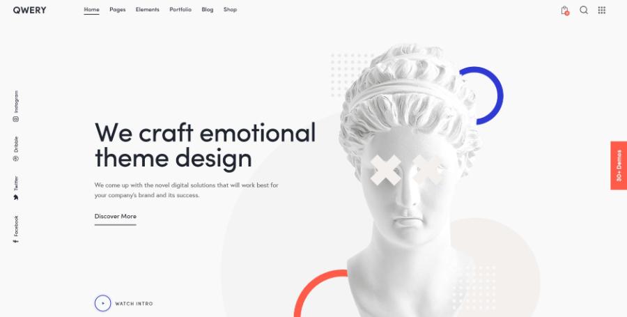 Qwery - Multi-Purpose Business WordPress Theme